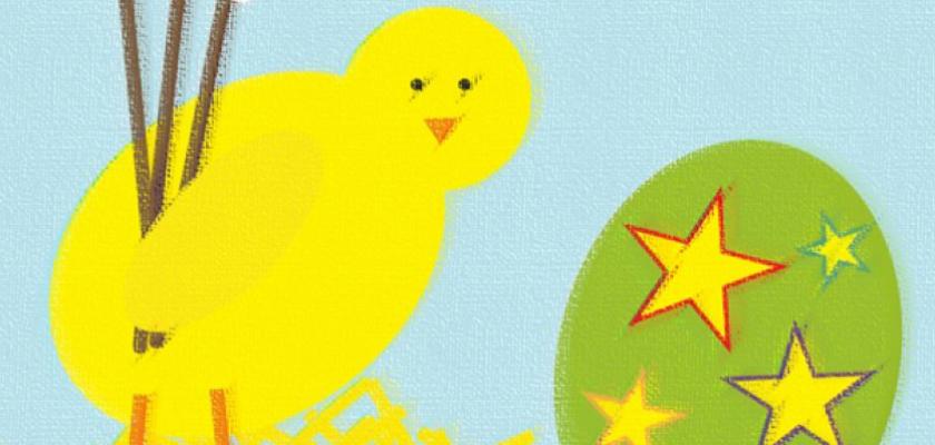 III Powiatowa Prezentacja Regionalnych Tradycji Wielkanocnych - plakat imprezy