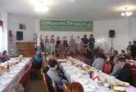 Zdjęcie przedstawia występ Koło Gospodyń Wiejskich z Wilkowic